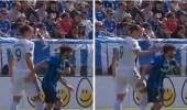 """بالفيديو.. طرد """" إبراهيموفيتش """" من مباراة بعد أن صفع لاعب كف عنيف"""