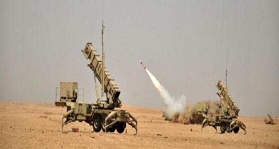 قوات الدفاع الجوي تعترض وتدمر صاروخا بالستيا أطلق باتجاه جازان