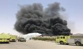 اندلاع حريق في مصنع لمواد الطلاء بالخرج.. ومدني الرياض يباشر