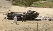 بالصور.. وفاة امرأة إثر حادث انحراف سيارة صباح اليوم بالباحة