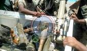 بالصور.. تفكيك ألغام ومخازن أسلحة للحوثيين بالساحل الغربي