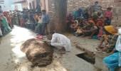 بالفيديو والصور.. دفن سيدة تحت روث البقر لعلاجها يتسبب في وفاتها