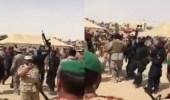"""بالفيديو.. """" ياولد سلمان يالدرع الحصين """" .. احتفال قوات التحالف العربي بتحرير الحديدة"""