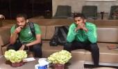 بالصور..بعثة الأخضر تصل الرياض