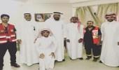 نيابة عن رئيس هيئة الهلال الاحمر السعودي مدير عام الشؤون المالية والادارية يقوم بزيارة فرع الهيئة بمنطقة الرياض