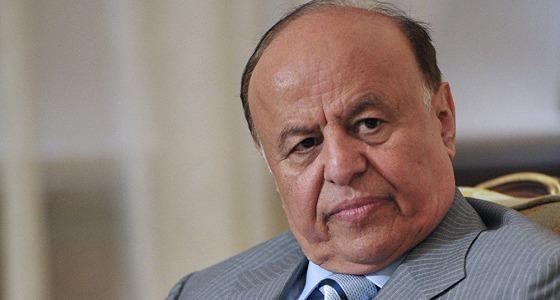 الرئيس اليمني يدعو لحسم تحرير الحديدة عسكريا