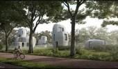 بالفيديو.. انطلاق أول مشروع سكني في العالم ثلاثي الأبعاد