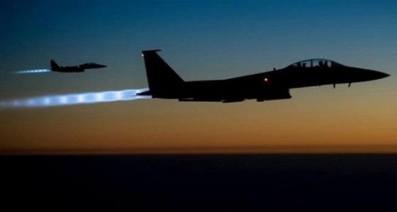 مقاتلات التحالف تدمر قاعدة إطلاق صواريخ للحوثيين بالحديدة