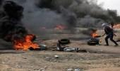 طائرات إسرائيلية تهاجم مخيمات العودة على حدود غزة