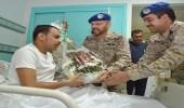 رئيس هيئة الأركان العامة يزور مصابي القوات المسلحة في عمليتي عاصفة الحزم وإعادة الأمل