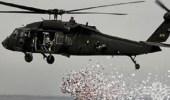 طائرات التحالف تلقي منشورات تحذيرية لأهالي الحديدة