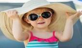 ملابس تحمي طفلك من الشمس