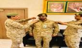 """ترقية """" سعد العتيبي """" إلى رتبة عقيد"""
