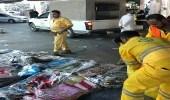 بالصور.. مصادرة 46 طنا خضار وفاكهة وتسليم 116 عاملا للجهات المختصة بالرياض