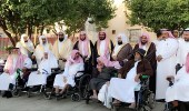 """بالصور.. """" الأمر بالمعروف """" تنظم برنامج لعيادة المرضى بالعيد في مكة"""