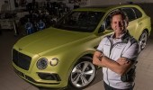 بنتلي بنتايجا تسعى وراء لقب أسرع سيارة متعددة الاستخدامات في العالم