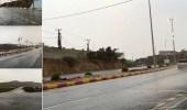 بالصور: هطول أمطار على منطقة الباحة