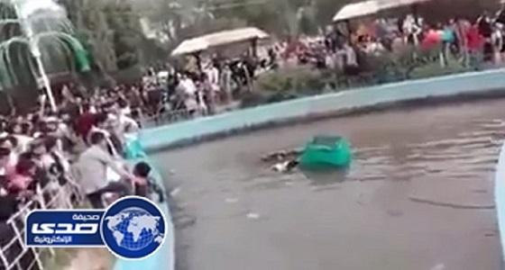 بالفيديو.. لحظة وفاة ثلاثة من عائلة واحدة بماس كهربائي في صنعاء
