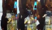 """بالفيديو.. امرأة تسرق الأموال من """" حقيبة """" متسوقة بطريقة ماكرة"""