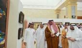 أمير المدينة المنورة بالنيابة يزور جامعة طيبة