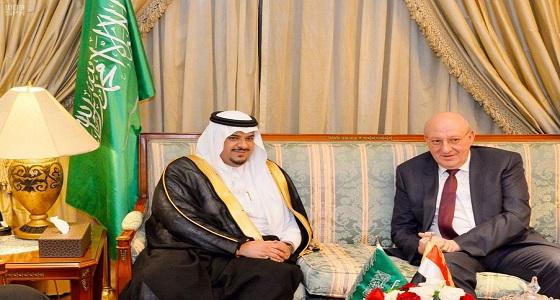 أمير الرياض بالنيابة يشرف حفل سفارة جمهورية مصر العربية