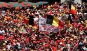 بالصور.. استقبال ملكي لمنتخب بلجيكا للاحتفال بالإنجاز التاريخي
