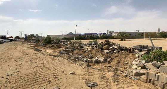 أمانة العاصمة المقدسة تزيل التعديات بمنطقة الشميسي ومخطط التخصصي