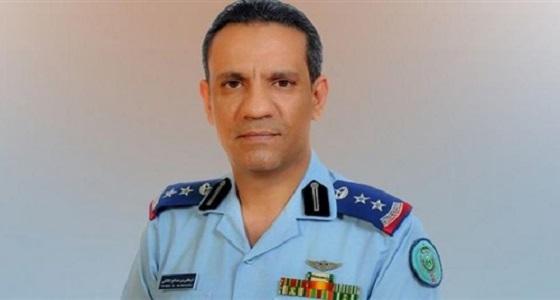 التحالف يعترض صاروخ حوثي تم إطلاقه تجاه الشقيق