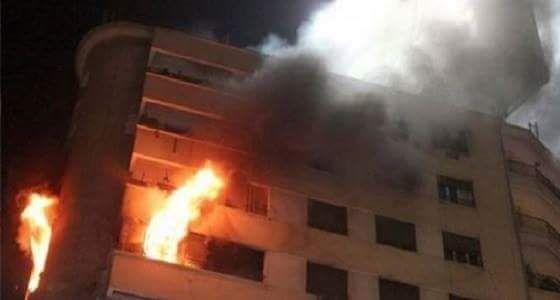 شاب يحرق المنزل بوالده وزوجته ويحاول الانتحار