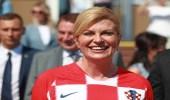 رئيسة كرواتيا عن نهائي المونديال: انتظره بفارغ الصبر