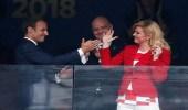 كرواتيا وفرنسا قدما درسا في الوطنية بأسلوبين مختلفين