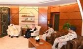 الأمير سعود بن نايف يستقبل مساعد وكيل الحرس الوطني بالقطاع الشرقي للجهاز العسكري