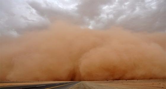 الأرصاد: رؤية غير جيدة بنجران نتيجة العوالق الترابية