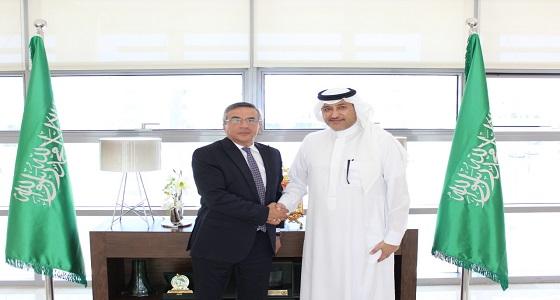 سفير المملكة لدى الأردن يستقبل سفير جمهورية أذربيجان المعين حديثا في عمان