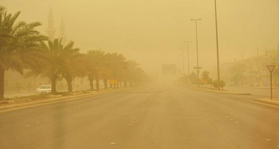 الأرصاد: إنعدام الرؤية بالمنطقة الشرقية والأحساء نتيجة الغبار