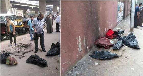 بالفيديو .. العثور على جثث 3 أطفال داخل أكياس قمامة بمصر.. والطب الشرعي يوضح
