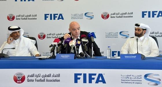 """تقرير """" التايمز """" يفتح النار على مونديال قطر.. وبريطانيا تطالب بتحقيق مستقل"""