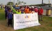بالصور.. طلاب حلقات القرآن ينظفون الحدائق والشواطئ