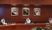 """بالصور.. """" الفيصل """" يرأس اجتماع لجنة الحج المركزية"""