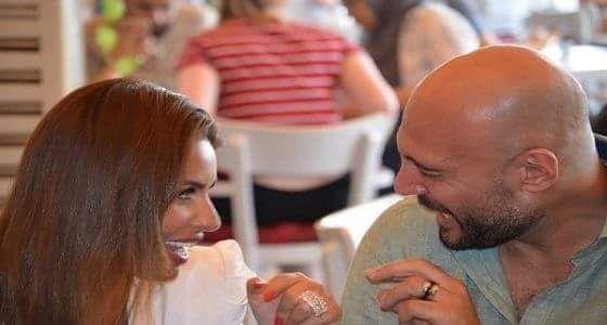 وليد فواز في أول تعليق له بعد زواجه المفاجئ من مي سليم