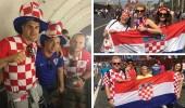 بالفيديو والصور.. احتلال كرواتي لموسكو قبل نهائي كأس العالم بساعات