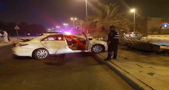 مصرع أم حامل وإصابة أطفالها الـ 5 في حادث مفجع