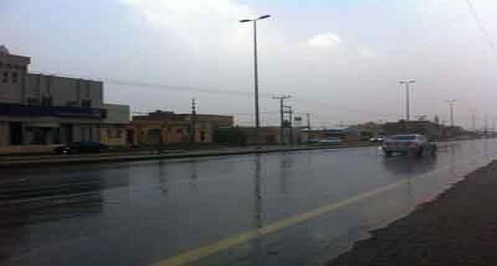 هطول أمطار متفرقة على الطائف