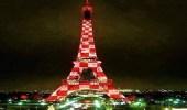 فرنسا تزين برج إيفل بعلم كرواتيا بعد فوزها باللقب