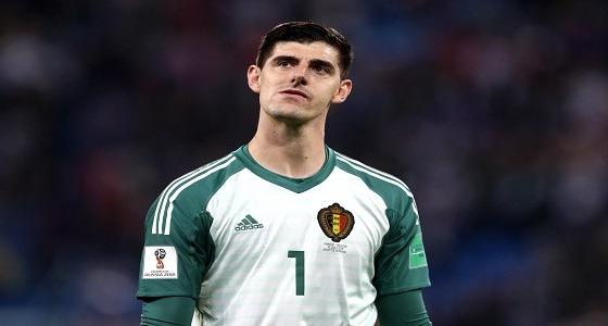 حارس بلجيكا: خسرنا أمام فريق لم يقدم أي شيء