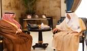 """"""" الفيصل """" يستقبل أمين محافظة جدة"""