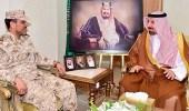 أمير نجران يبارك تكليف العتيبي قائدا للواء الحرس الوطني