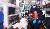 الهلال الأحمر يباشر 5000 حالة يومي التروية وعرفات
