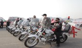 20 فرقة إسعافيه للدراجات النارية يعملون على مدار الساعة لخدمة ضيوف الرحمن