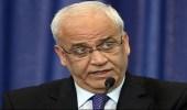 عريقات يطالب المجتمع الدولي بفرض العقوبات على إسرائيل